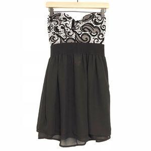 NEW Rue 21 Strapless Formal Dress Sweetheart Neck
